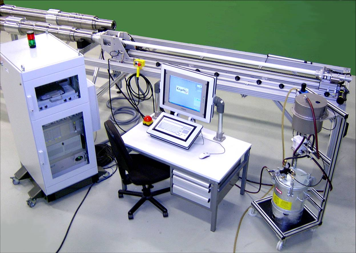 AXLES TESTING - PCMUX